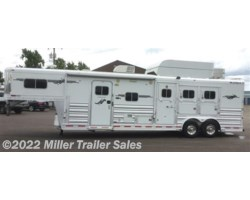 #3399 - 2007 Platinum Coach 3 horse with 12' Outlaw LQ