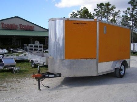 tropic trailer of florida trailers and parts 2003 cargo express 7x10 motorcycle hauler