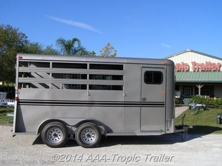 Horse Trailer - 2016 Bee Trailers 3 Horse Durango available Used in Fort Myers, FL