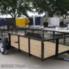 2018 Triple Crown 6x16 Tandem Utility 2' Mesh Sides  - Utility Trailer New  in Fort Myers FL For Sale by Tropic Trailer call 800-897-4430 today for more info.