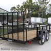 Tropic Trailer 2018 6x16 Tandem Utility 2' Mesh Sides  Utility Trailer by Triple Crown | Fort Myers, Florida