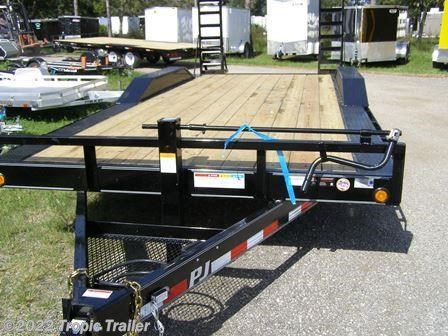 tropic trailer of florida trailers and parts 2017 pj trailers 20 super wide b6 flatbed flat deck