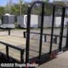 Tropic Trailer 2017 83x14 Channel Utility ATV (U8)  Utility Trailer by PJ Trailers | Fort Myers, Florida