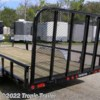 Tropic Trailer 2018 83x18 Channel Utility ATV (U8)  Utility Trailer by PJ Trailers | Fort Myers, Florida