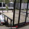 Tropic Trailer 2017 77x12 Channel Utility ATV (U7)  Utility Trailer by PJ Trailers | Fort Myers, Florida