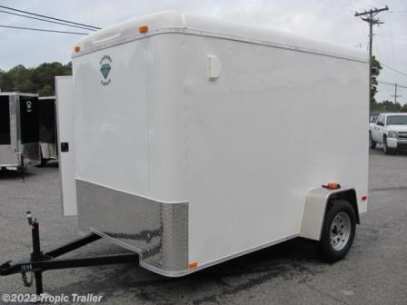 tropic trailer of florida trailers and parts new cargo trailer 2017 diamond cargo 6x10 enclosed cargo trailer