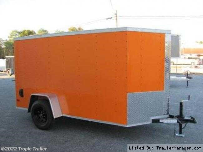 tropic trailer of florida trailers and parts 2017 diamond cargo 5x10 enclosed cargo trailer new in ft myers fl for