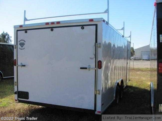 tropic trailer of florida trailers and parts 2017 diamond cargo 8 5x20 ladder racks cargo trailer new in ft myers
