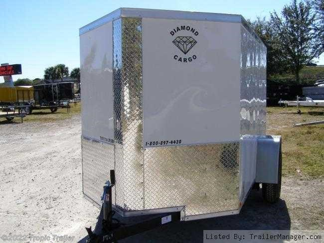 tropic trailer of florida trailers and parts 2017 diamond cargo 5x8 single axle cargo trailer new in ft myers fl for