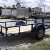 Tropic Trailer 2018 2PSAL10x60 Utility Pipe Rail  Utility Trailer by Diamond C | Fort Myers, Florida