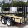 2017 Triple Crown 6x12 Tandem Utility  - Utility Trailer New  in Fort Myers FL For Sale by Tropic Trailer call 800-897-4430 today for more info.
