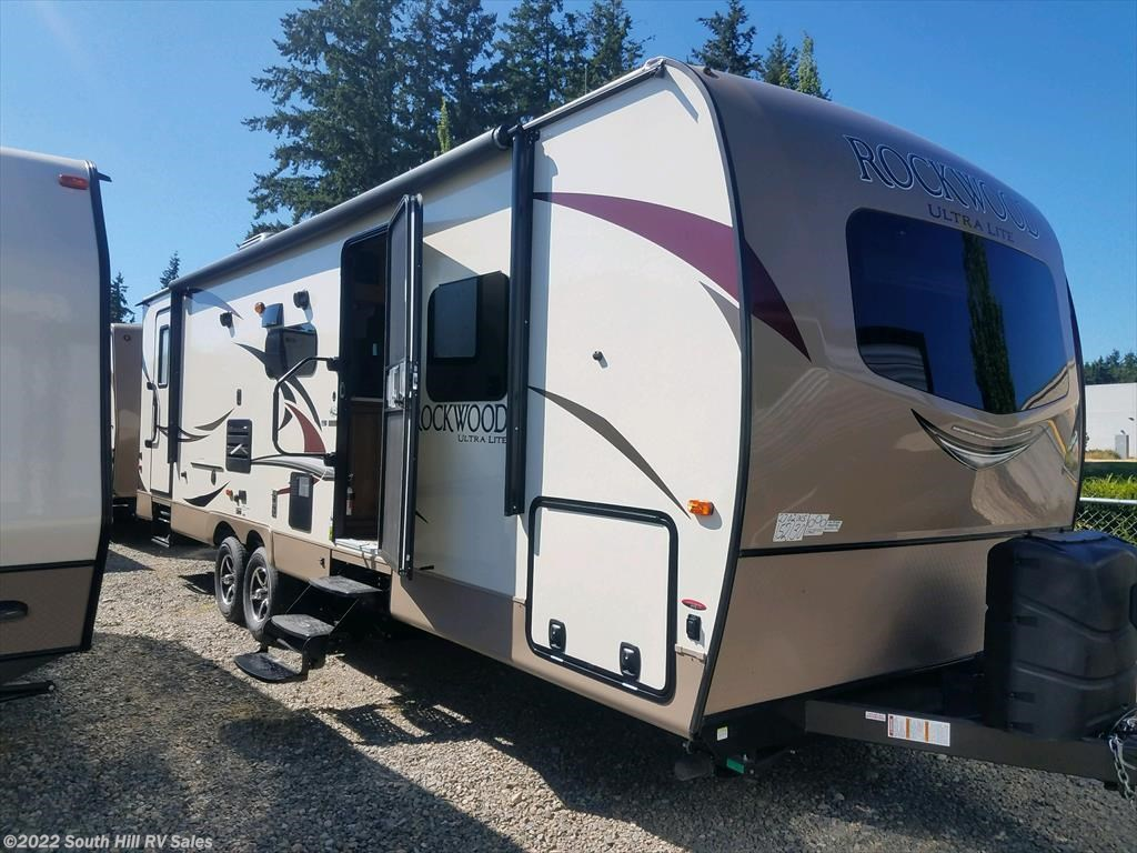 Travel Trailers For Sale Puyallup Wa >> 4231 2018 Forest River Rockwood Ultra Lite 2702ws For Sale In