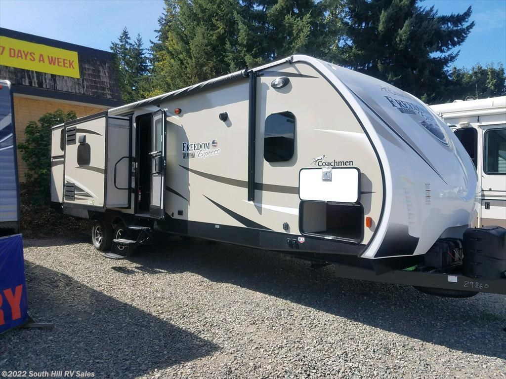 Travel Trailers For Sale Puyallup Wa >> 4285a 2018 Coachmen Freedom Express 320bhds For Sale In Puyallup Wa