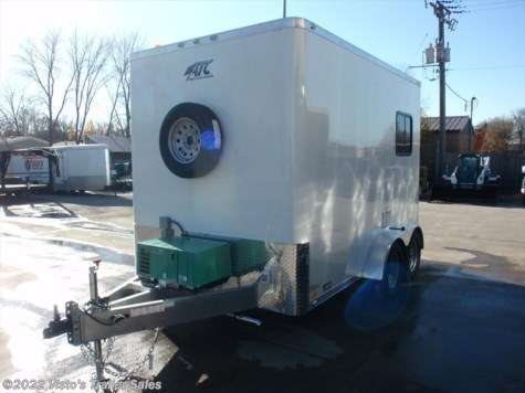 New 2017 ATC Quest 7x12 Fiber Splicing Trailer For Sale by Visto's Trailer Sales available in West Fargo, North Dakota