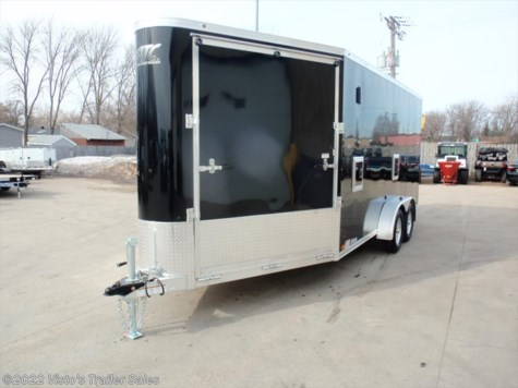 2017 ATC  7X16+6 Snowmobile Trailer