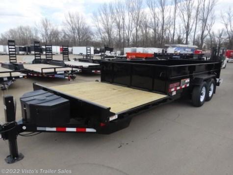 New 2017 Midsota 82X20 Flat Front Rear Dump For Sale by Visto's Trailer Sales available in West Fargo, North Dakota