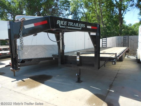 2015 Rice Trailers  102x25 Deckover