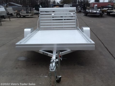 New 2018 Aluma 78X12 Utility Trailer For Sale by Visto's Trailer Sales available in West Fargo, North Dakota