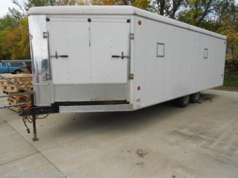 2001 United Trailers  8.5'X20'+4' Enclosed Trailer