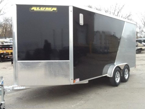 2018 Aluma  7'X16' Enclosed Trailer