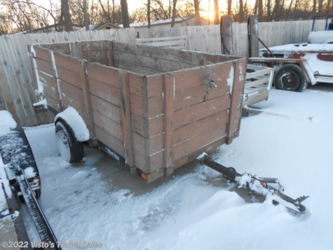 2000 Road King Trailers  5X10 Utility Trailer