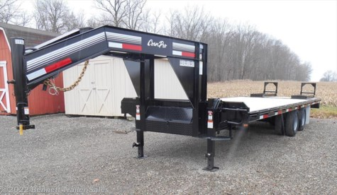 New 2017 CornPro 20 + 5  (10 Ton) For Sale by Bennett Trailer Sales available in Salem, Ohio