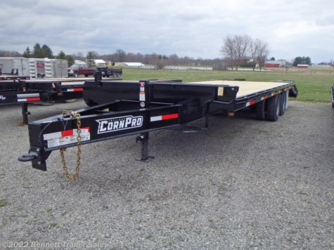 New 2019 CornPro 20 + 5  (10 Ton) For Sale by Bennett Trailer Sales available in Salem, Ohio