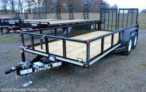 New 2018 CornPro UT-16L For Sale by Bennett Trailer Sales available in Salem, Ohio