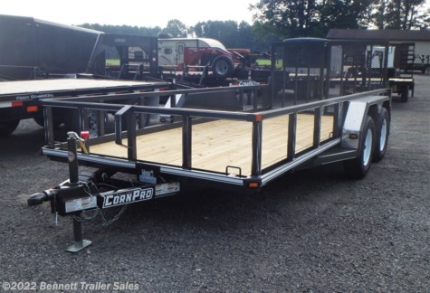 New 2019 CornPro UT-16L For Sale by Bennett Trailer Sales available in Salem, Ohio