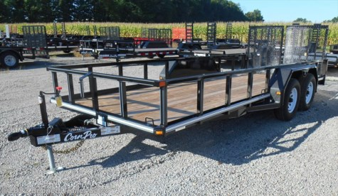 New 2017 CornPro UT-18L For Sale by Bennett Trailer Sales available in Salem, Ohio