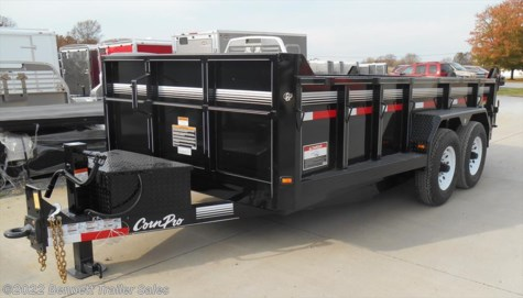 New 2018 CornPro DB-14S For Sale by Bennett Trailer Sales available in Salem, Ohio