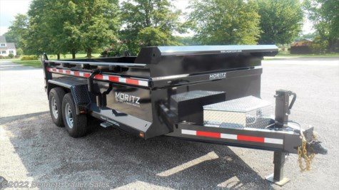 New 2017 Moritz DLBH610-14 For Sale by Bennett Trailer Sales available in Salem, Ohio