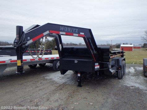 New 2020 Moritz DLGH610-12 For Sale by Bennett Trailer Sales available in Salem, Ohio