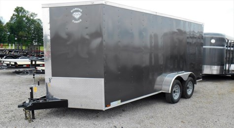 New 2017 Diamond 7 wide TA - 16' For Sale by Bennett Trailer Sales available in Salem, Ohio