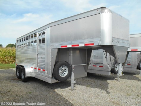 New 2020 EBY 16' GN LS MAV For Sale by Bennett Trailer Sales available in Salem, Ohio