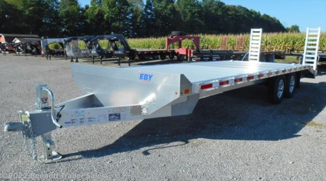 New 2018 EBY 20' Deckover (5 Ton) For Sale by Bennett Trailer Sales available in Salem, Ohio