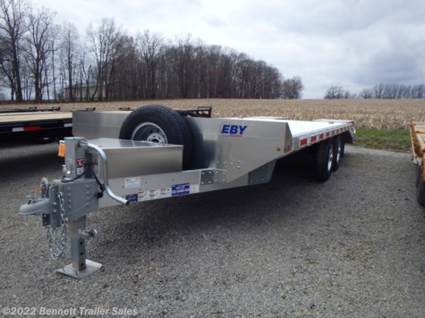 New 2019 EBY 20' Deckover (7 Ton) For Sale by Bennett Trailer Sales available in Salem, Ohio