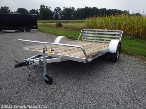 New 2020 Triton Trailers FIT1281-P For Sale by Bennett Trailer Sales available in Salem, Ohio