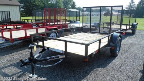 New 2018 Quality Trailers B Single 77-10 For Sale by Bennett Trailer Sales available in Salem, Ohio