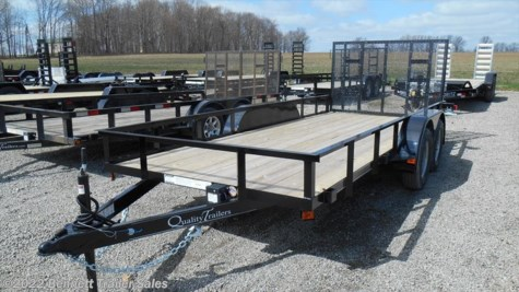 New 2018 Quality Trailers B Tandem 16' Econo For Sale by Bennett Trailer Sales available in Salem, Ohio