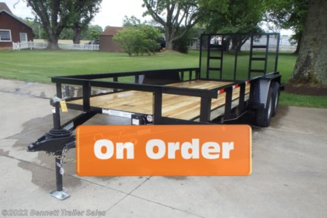 New 2021 Quality Trailers by Quality Trailers, Inc. B Tandem 16' For Sale by Bennett Trailer Sales available in Salem, Ohio