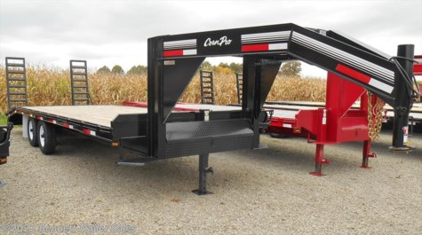 New 2016 CornPro 20 + 5  (7 Ton) For Sale by Bennett Trailer Sales available in Salem, Ohio