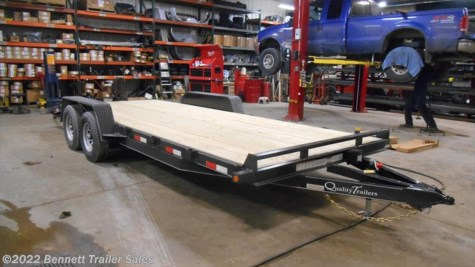 New 2018 Quality Trailers AW Series 20 For Sale by Bennett Trailer Sales available in Salem, Ohio