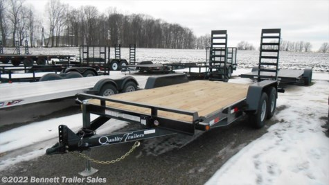 New 2018 Quality Trailers DH Series 16 For Sale by Bennett Trailer Sales available in Salem, Ohio