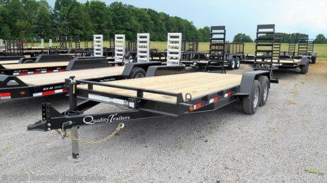 New 2018 Quality Trailers DH Series 18 For Sale by Bennett Trailer Sales available in Salem, Ohio