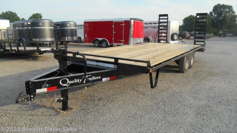 New 2018 Quality Trailers P Series 18 + 4 (7 Ton) For Sale by Bennett Trailer Sales available in Salem, Ohio