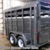 Stock Photo - Trailer will be a lighter color (Pewter)