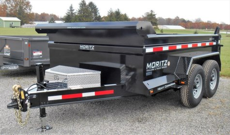 New 2018 Moritz DLBH610-10 For Sale by Bennett Trailer Sales available in Salem, Ohio