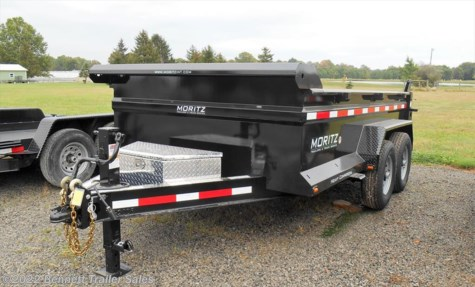 New 2018 Moritz DLBH610-12 For Sale by Bennett Trailer Sales available in Salem, Ohio