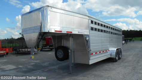 New 2019 EBY 20' GN Mav For Sale by Bennett Trailer Sales available in Salem, Ohio